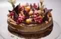 Целувчена торта с лешници и шоколад