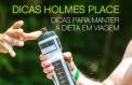 Holmes Place - DICAS PARA MANTER A DIETA EM VIAGEM