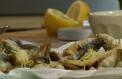 Pirinač s rapinijem i prženim sardinama