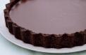 Tuzlu Çikolatalı Tart