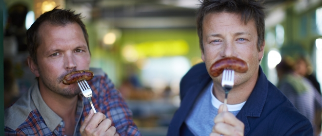 ESTREIA 'JAMIE OLIVER: FOOD FIGHT CLUB'
